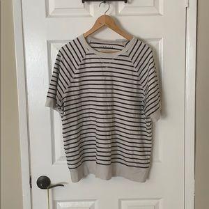 Everlane men's large striped sweater shirt